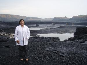 Open cast mines in Nagpur
